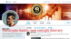 Chris Dunn CryptoHustle skillincubator scam or legit Twitter profile