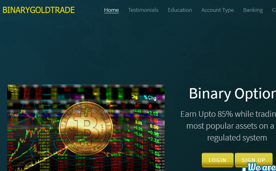Binarygoldtrade review