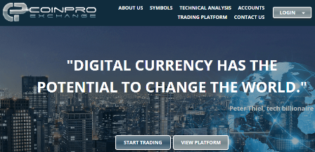 CoinPro Exchange review
