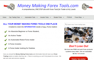 Money making forex tools