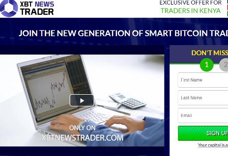 XBT News Trader scam