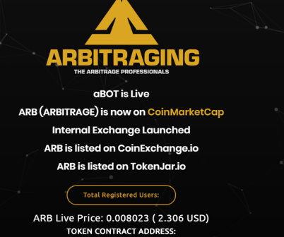 ARBITRAGING.co review