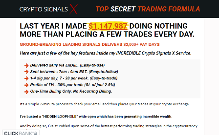 crypto signals x review