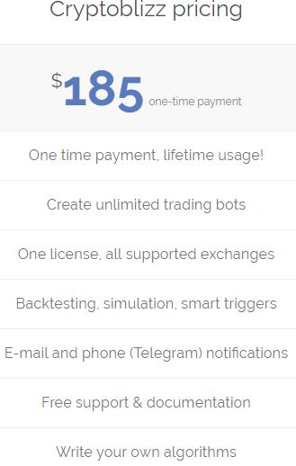 Cryptoblizz Cryptocurrency trading bot