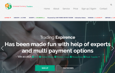 Universal Currency Traders