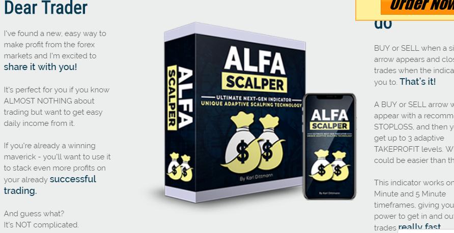 Alfa Scalper Review: Is alfascalper net a Scam Indicator