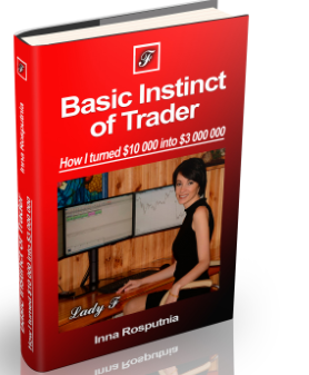 Basic Instinct of Trader. Inna Rosputnia How I turned $10k into $3 millions