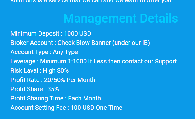 managed forex accounts by money pile ea