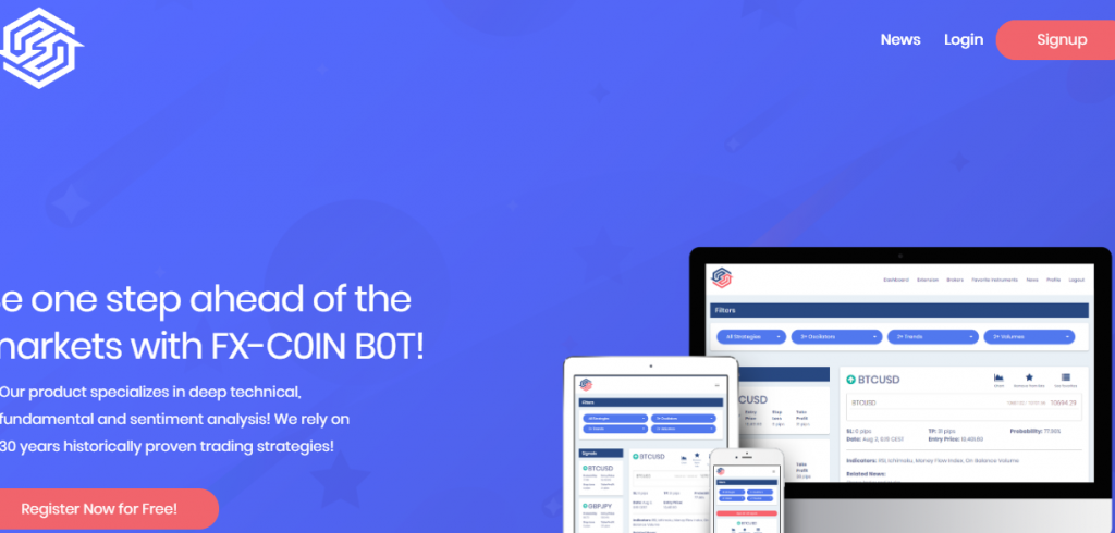 fx coin bot review